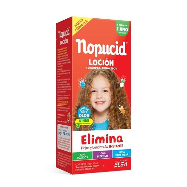 Nopucid Locion 65 Ml + Shampoo Removedor 2 Sobres x 15 g
