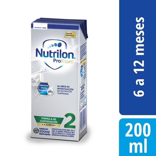 Leche Nutrilon 2 Pro Futura Brick X 200 Ml