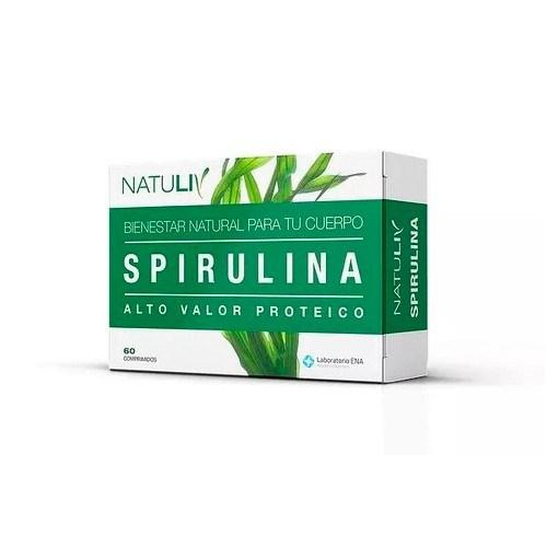 Spirulina Natuliv Comp.X 60