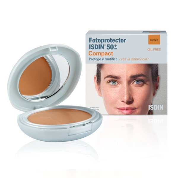 Isdin Compacto Fotoprotector Compacto Bronce Spf 50+ X 10 Grs