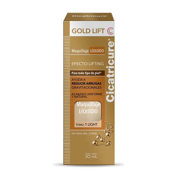 Cicatricure Gold Lift Maquillaje Líquido Tono 1 Light 30ml