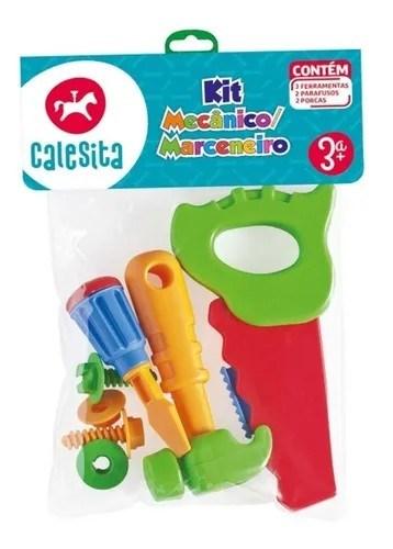 Set Mecánico Carpintero Juguete Calesita