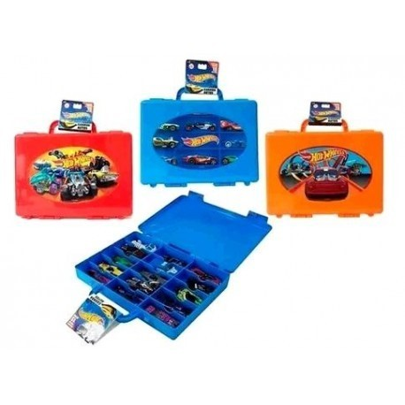 Valija Hot Wheels Porta Autos