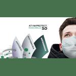 Barbijo Conicet Reutilizable Atom Protect Con Sanitizante #3