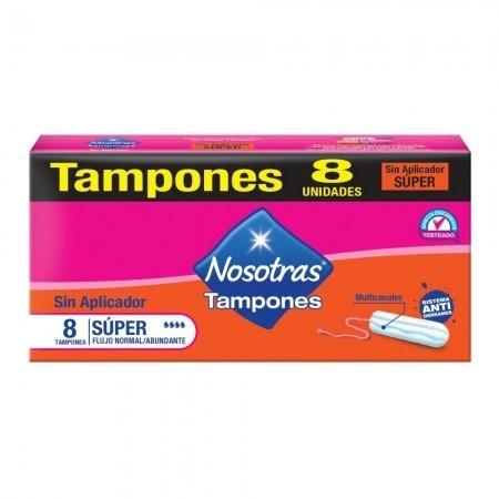 Nosotras Tampones Digitales Super 8un  2x1