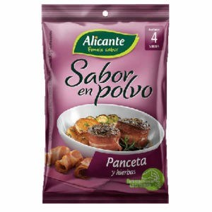 CALDO P/SAB ALICANTE PANCETA Y HIRB x 40 GRS