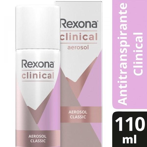 Desodorante Rexona Clinical Clasic Antitranspirante 110ml