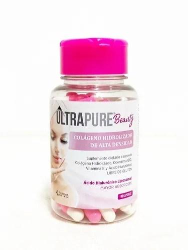Colágeno Hidrolizado Ultra Pure Beauty 90 Cápsulas