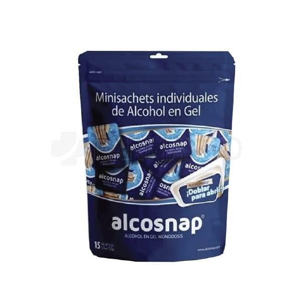Alcohol En Gel Minisachet Individual 15 Unidades