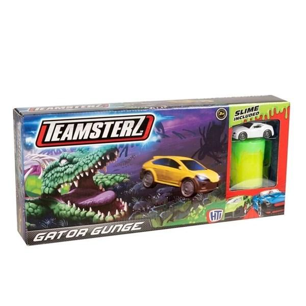 Set Pista + Auto + Slime Gator Gunge Teamsterz