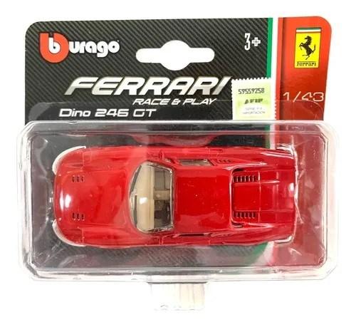 Autito Ferrari Dino A Escala Coleccionable alt