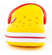 Crocs Band Kids Yellow Red Nº 31