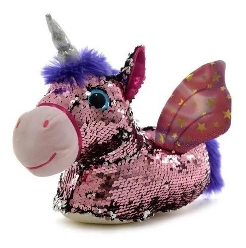 Pantuflas Phi Phi Toys Unicornio y Lentejuelas alt