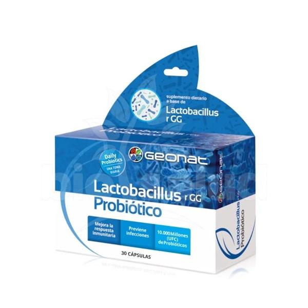 Probiótico Lactobacillus x30 Cápsulas