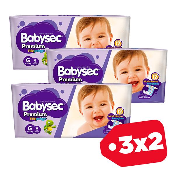 Promo 3x2 Babysec Premium G x8