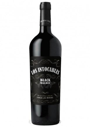 LOS INTOCABLES BLACK MALBEC CAJA x 6 X 750 CC