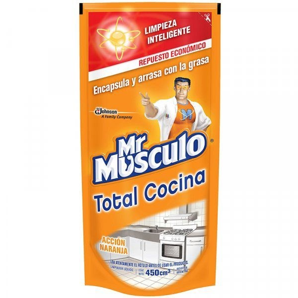 MR MUSCULO DP ANTIGR. AC NARANJA x 450 CC