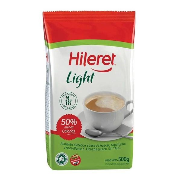 AZUCAR LIGHT HILERET X 500 GRS