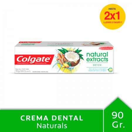 Crema Dental Colgate Natural Extracts Detox 90g