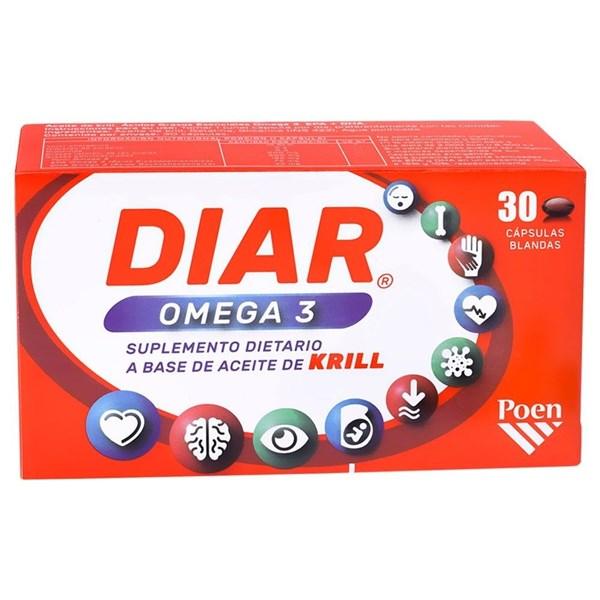 Diar Omega x30 Cápsulas