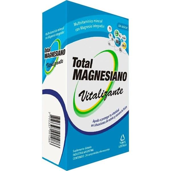 Total Magnesiano Multivitaminico Vitalizante 24 Comprimidos Efervescentes