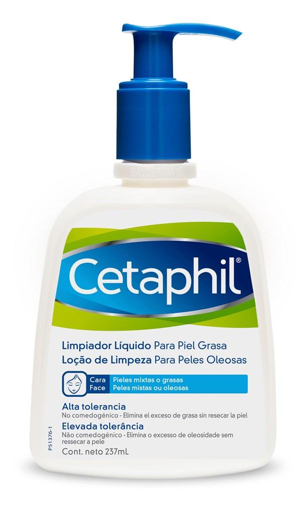 Cetaphil Limpiador Líquido Piel Grasa X 237 Ml