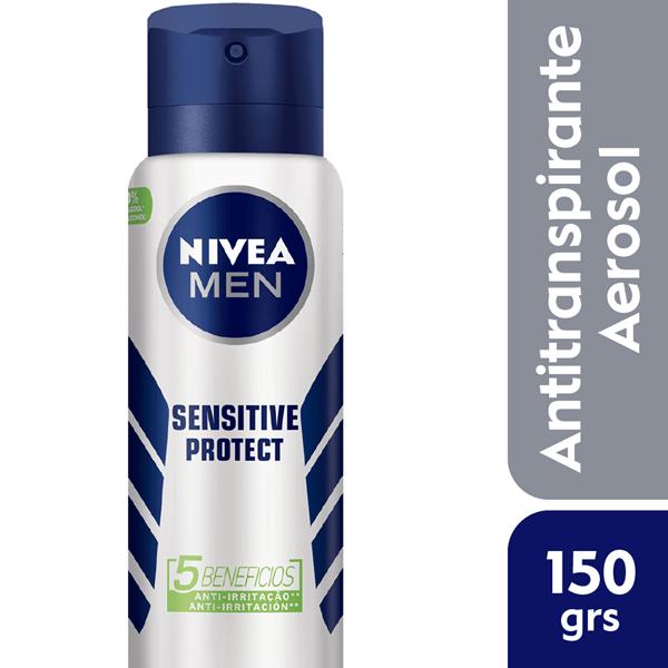 Desodorante Nivea For Men Sensitive Aerosol X 150 Ml