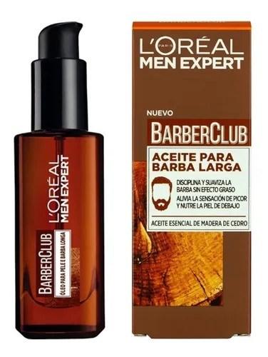 L'Oreal Men Expert Aceite Para Barba Barber Club