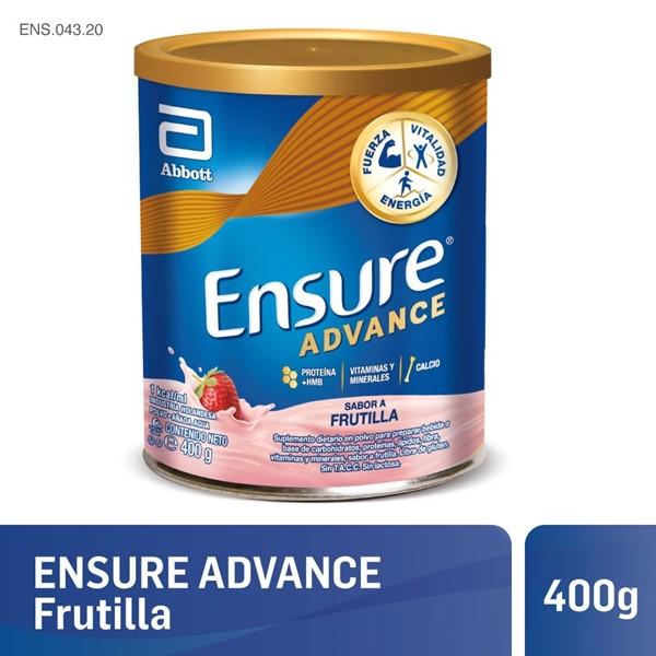 Ensure Advance Frutilla 400 Gr