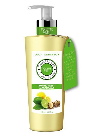 Lucy Anderson Crema Hidratante Corporal Bifásica Lemongrass