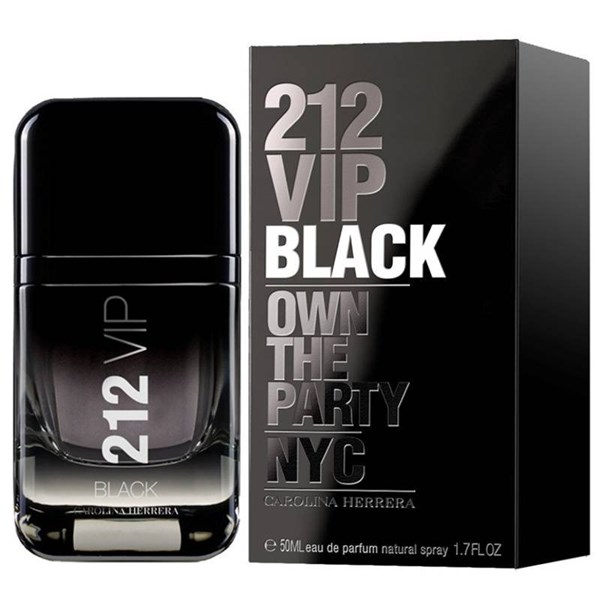 Perfume Carolina Herrera 212 VIP Black Men EDP 50ml #1