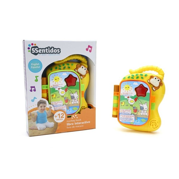 Libro Interactivo Baby Innovation