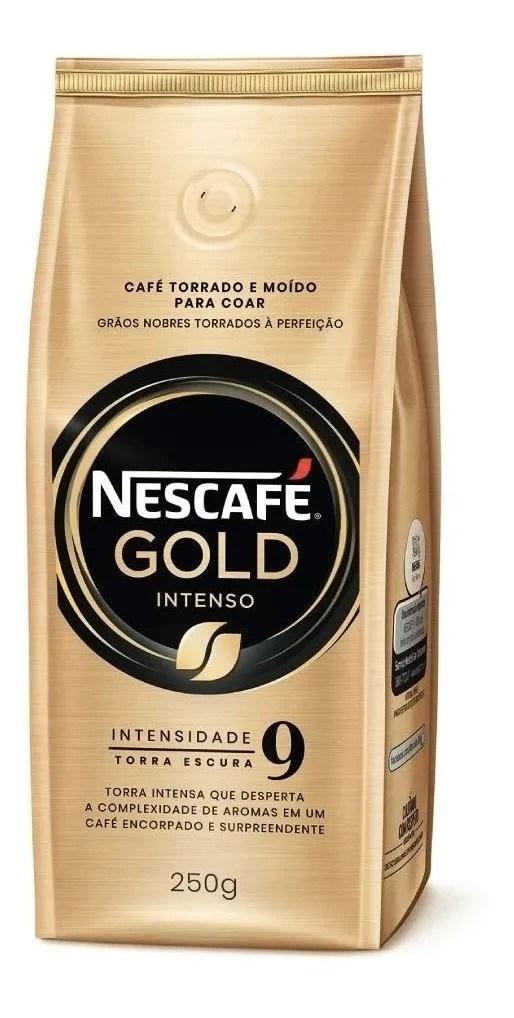 NESCAFE GOLD TOSTADO MOLIDO INTENSO x 250 GRS