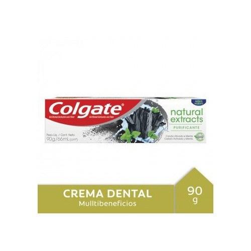 Colgate Cr Naturals Carbon Act X 90