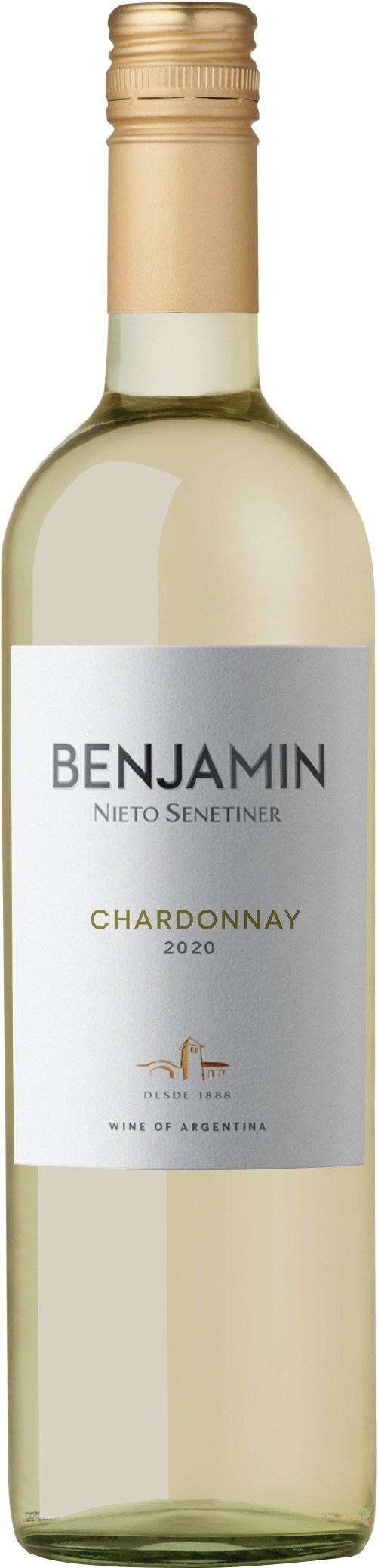BENJAMIN CHARDONNAY X 750 ML