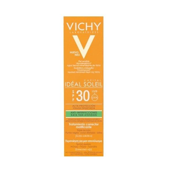 VICHY Protector Solar Anti Imperfecciones Fps 30 50ml