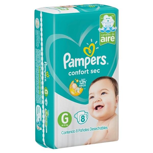 Pampers Confort Sec G x8