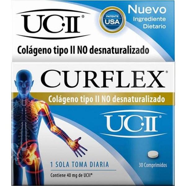 Curflex Colageno Tipo ll  30 Comprimidos