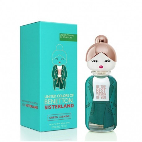 Benetton Sisterland Green Jasmine EDT X 80 Ml