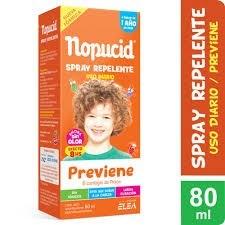 Nopucid Pediculicida x 80 ml Repelente