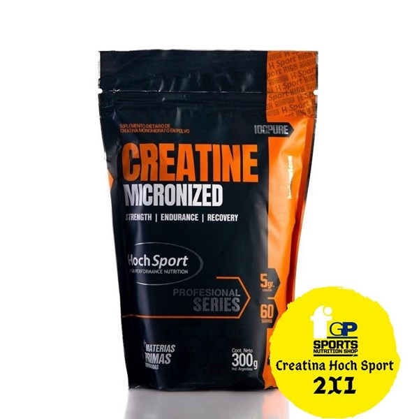 Hoch Sport Creatina Micronizada 300 Gr (2x1)