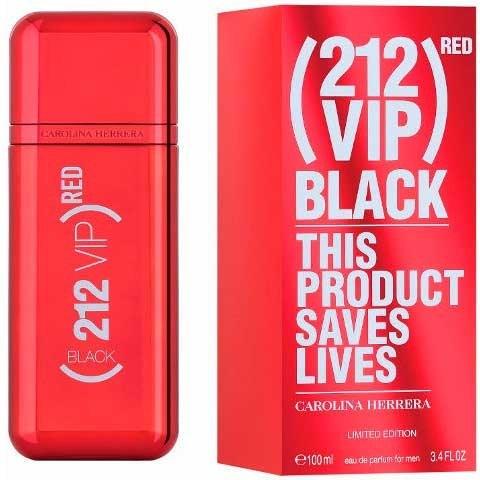 Perfume Carolina Herrera 212 Vip Red Black X 100ml Edicion Limitada