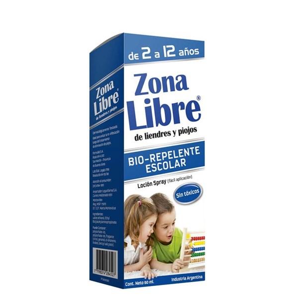 Zona Libre x60ml Escolar Spray