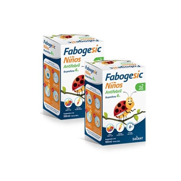 Fabogesic Niños Ibuprofeno x100ml PROMOCIÓN 2x1