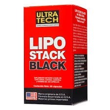 Lipo Stack Black x60 Cápsulas