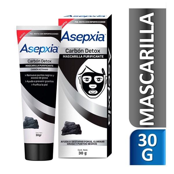 Asepxia Mascarilla Detox Carbon 30 Gramos