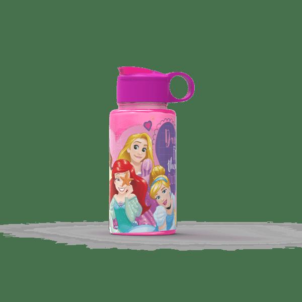Botella Princesas Flip Top 500ml