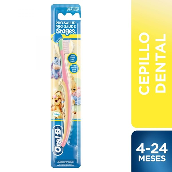 Oral B Cepillo Dental Pro-Salud Stages Winnie The Pooh Baby