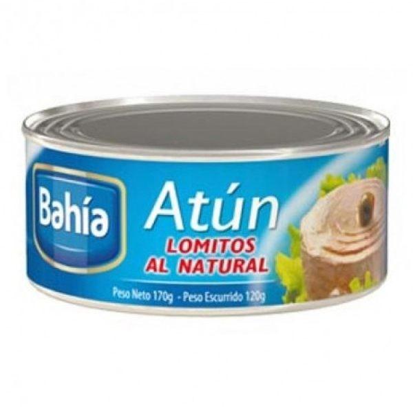 ATUN LOMITOS BAHIA NATURAL x 170 G