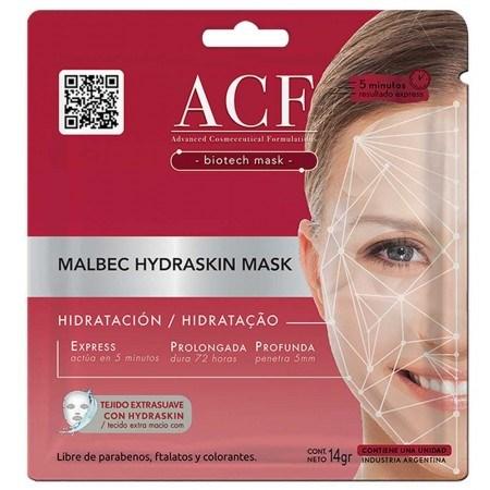 Máscara Facial ACF Malbec Hidraskin 14g